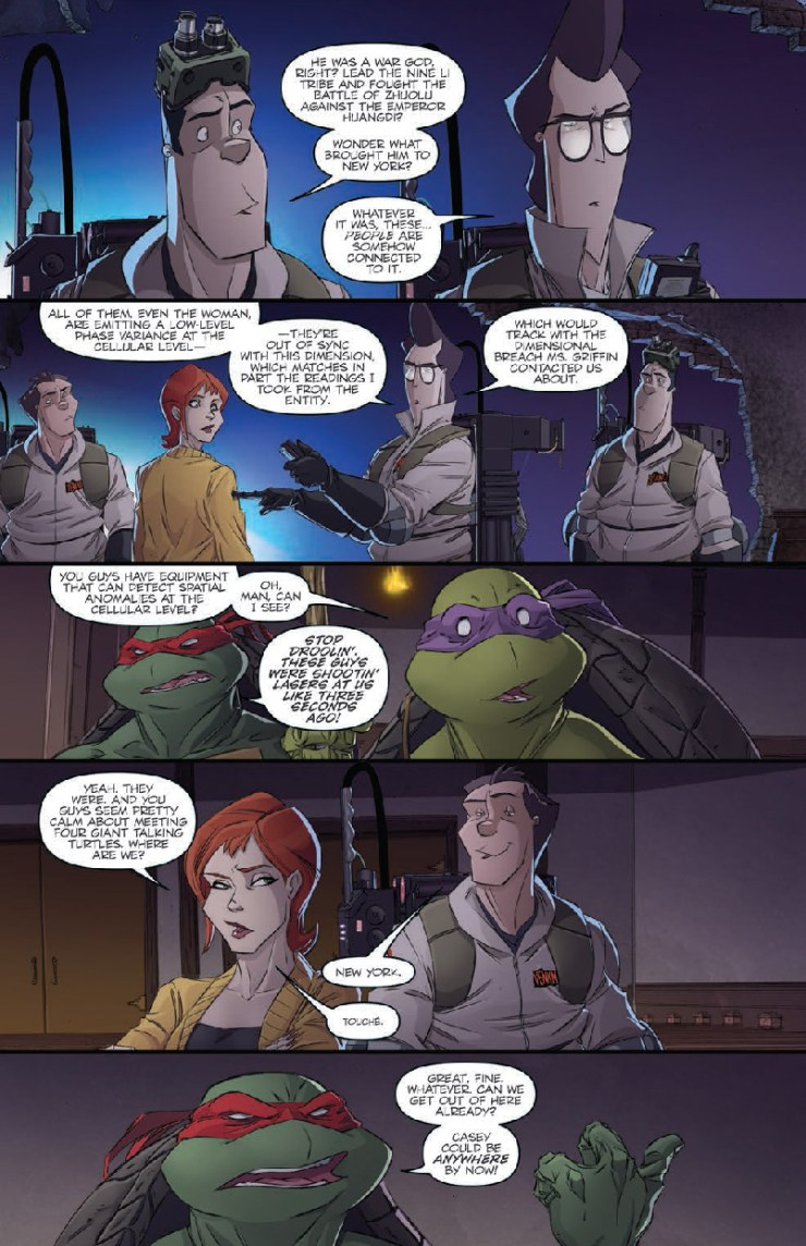Is It Good? TMNT/Ghostbusters #2 Review
