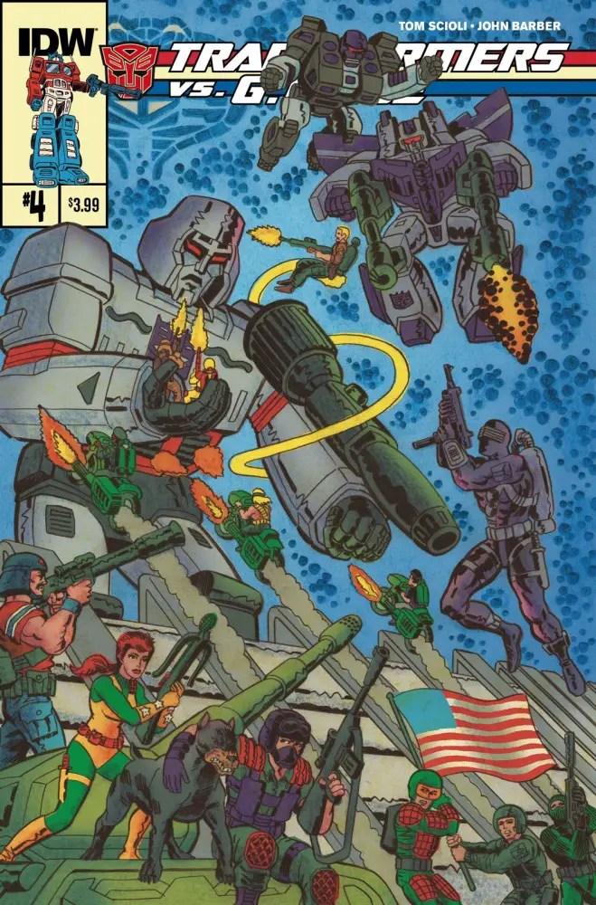 Is It Good? Transformers vs. G.I. Joe #4 Review