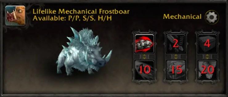 wow-wod-battle-pet-lifelike mech frostboar