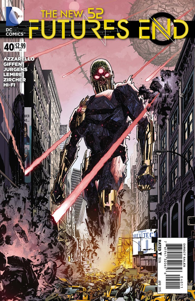 Is It Good? Futures End #40 Review