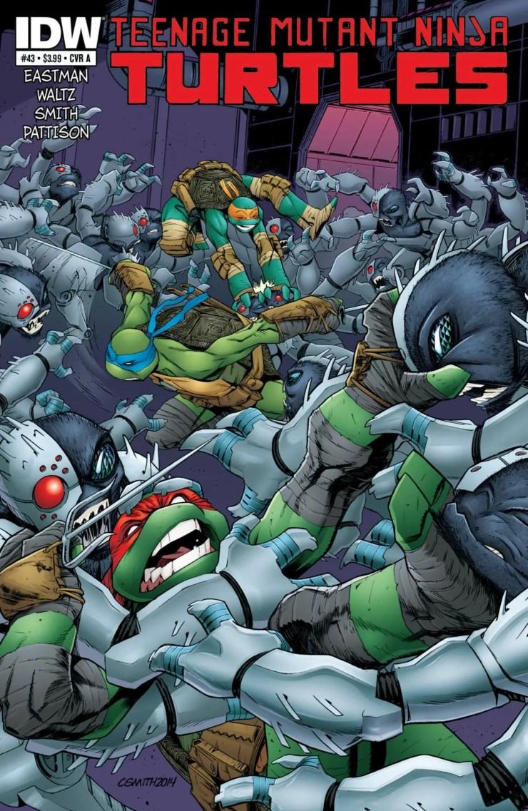 Is It Good? Teenage Mutant Ninja Turtles #43 Review