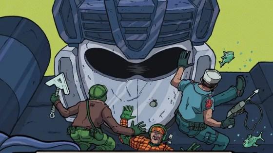 Is It Good? Transformers vs G.I. Joe #5 Review