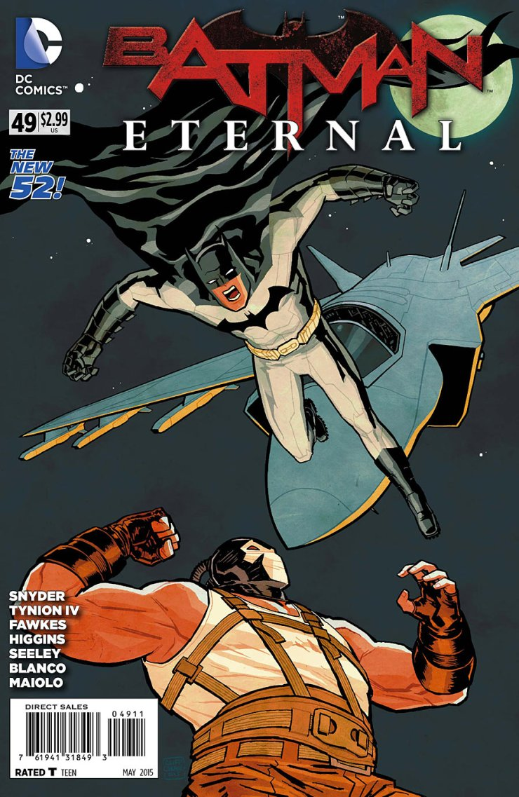 We take yet another step closer to the finale of Batman Eternal this week. Will we actually learn who the mastermind behind this huge plan is?! Well, let's find out!