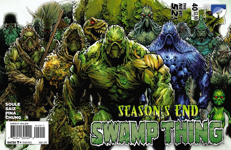 Here we are, folks. The final issue of Swamp Thing, for now at least. It's been one hell of a ride from beginning to end, with both Scott Snyder and Charles Soule. Soule is ending the book on a big note, judging by the fact it is a bigger issue than usual. How will it end? Is it good?