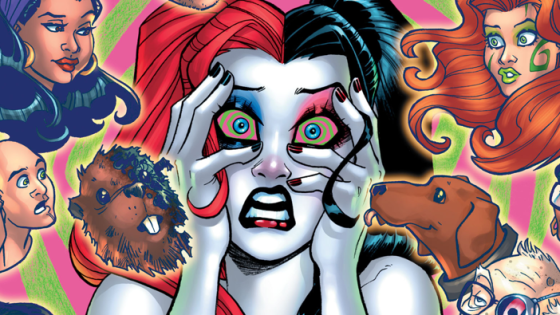 I was disappointed that there wasn't a regular issue of Harley Quinn during February (at least there was a Valentine's Day special).  It certainly left a noticeable void in my pull-list for the week.