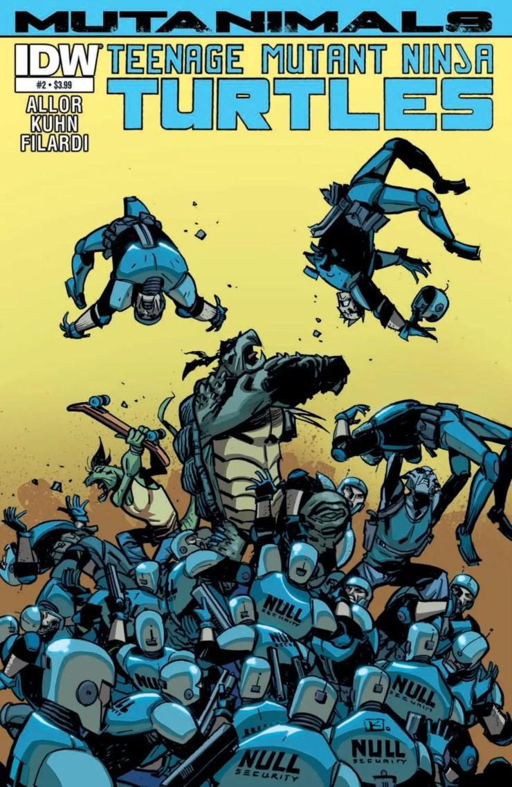 Is It Good? Teenage Mutant Ninja Turtles: Mutanimals #2 Review