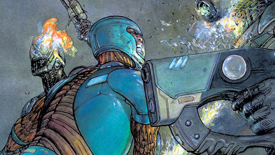 The last issue of X-O Manowar was but a dream.  Aric of Dacia flashback dreamt of his glory days gashing up Roman soldiers with an old lover and romantic horseback rides with his best friend (shouldn't that be the other way around?).