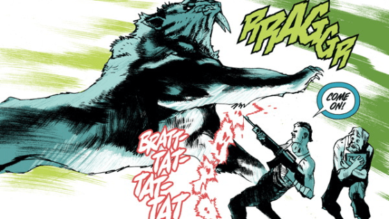 With the second issue mostly filling in the backstory and providing the true nature of the Meld, we're definitely looking for some plot progression from this third issue. And possibly more action with The Tyrant. And dinosaurs. Dinosaurs always help.