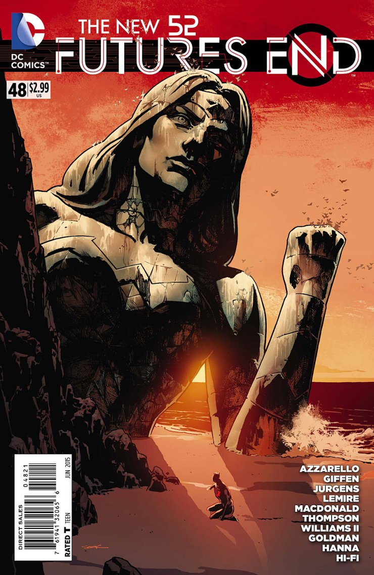 It's hard to believe, but we're at the final issue of Futures End. Like with Batman Eternal, it's been a long and wild ride. Let's see how it all closes out. Is it good?