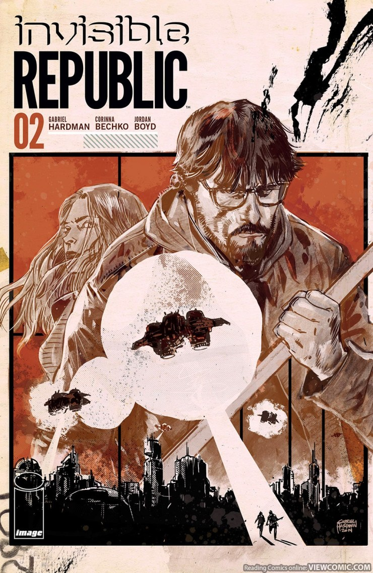 I praised Invisible Republic's debut as being a promising start to what looked to be a great new sci-fi thriller. Now, one month and one interview with the creators later, I'm reading Invisible Republic #2. Will the second issue live up to the high bar set by the first? Is it good?