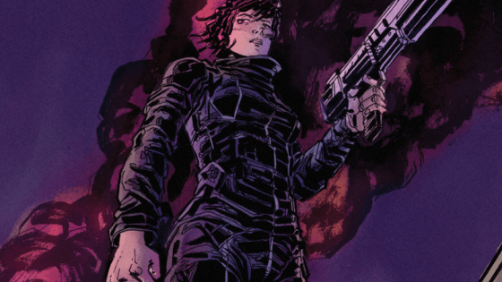 AiPT:  Today I have the pleasure of talking to Michael Moreci.  Thanks for taking the time.  I enjoyed reading the first volume of Roche Limit and was especially intrigued by the philosophical issues you discussed. I also thought it was interesting how you combined the different genre types of detective fiction, science fiction, and a zombie apocalypse with each other.
