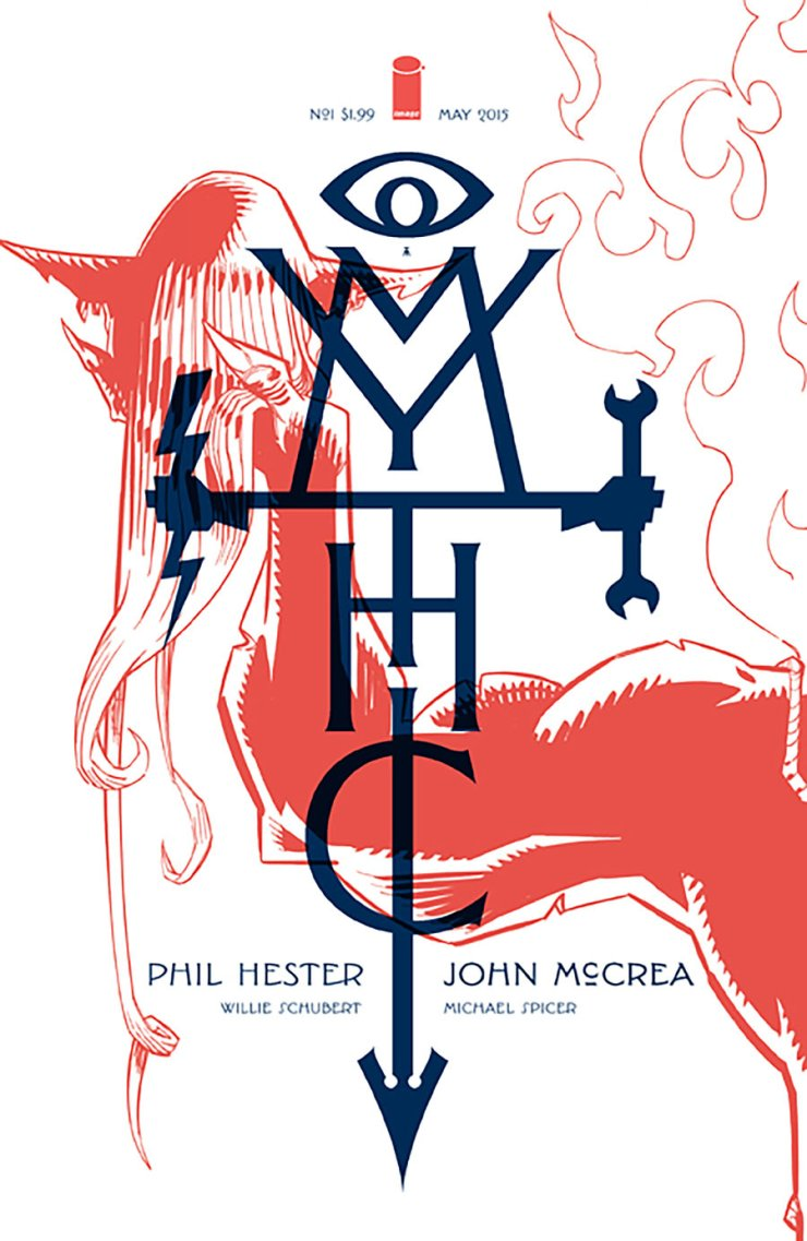 It's time to take a look at a brand new series from Image Comics called Mythic. I don't know much about it outside of a small blurb I read a while ago, but that'll soon change. Is it good?