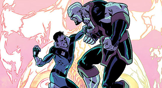 This week is the debut of one of Image's new series titled, The Mantle. Written by Ed Brisson (Sheltered) and illustrated by Brian Level (Lazarus), the comic documents Robbie, an uninspiringly average guy, who is gifted with incredible powers and consequently sucked into a war between two super forces. Selected as the new avatar for The Mantle, Robbie is forced to assume the role as he not only inherits super powers, but a villain as well. So is this new series good?