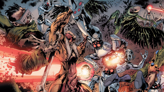 Secret Wars has been out for a good month now and there have been a lot of neat ideas introduced since. One of the more interesting is the dead zone where prisoners are sent. A place where symbiotes, Ultron robots and Marvel zombies dwell. It's a nasty place, and this issue explores it further, but is it good?