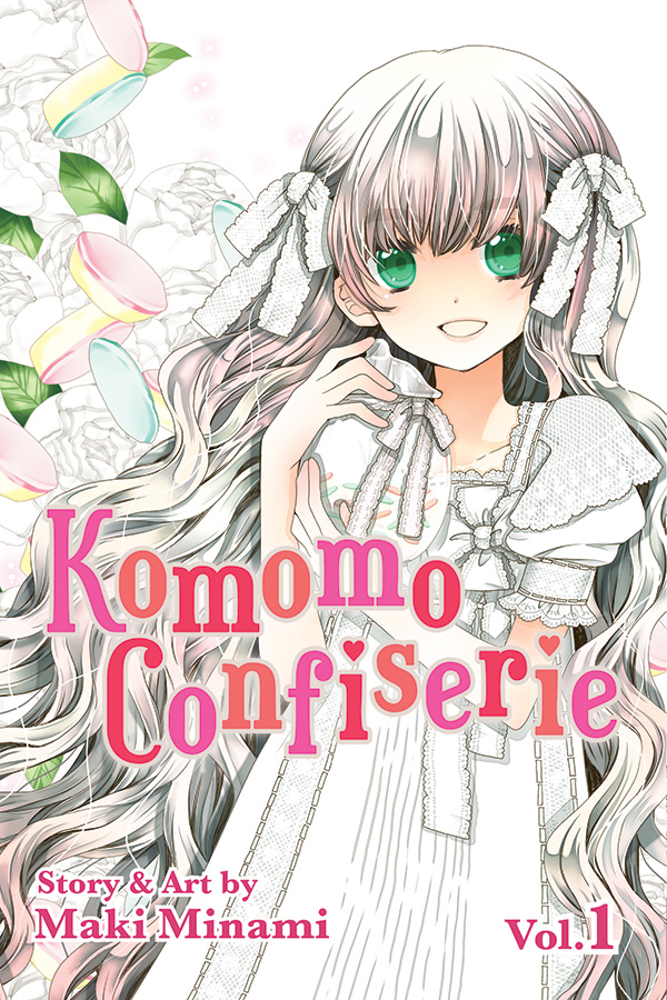 A brand new Shojo series has been brought over by Viz Media, this time called Komomo Confiserie. It's from a mangaka (manga creator) named Maki Minami, who has had a few popular hits in the past decade. This is her most recent series, having officially ended back in December. The question is: Is it good?