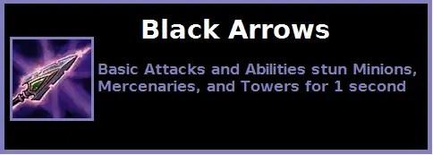 Black arrow custom