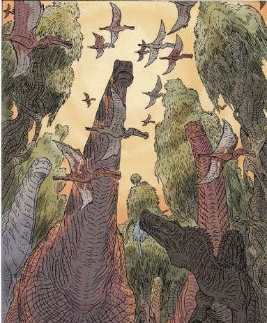 Age of reptiles #4 002