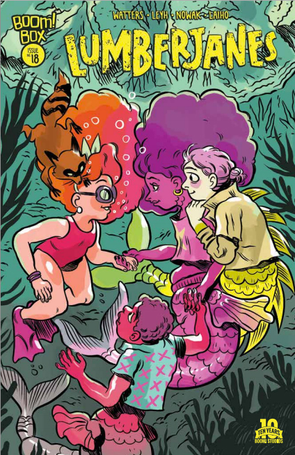 In this issue of Lumberjanes, it's the start of a new arc and time to meet more mythical creatures that dwell in the woods around Camp Lumberjane. Is it good?