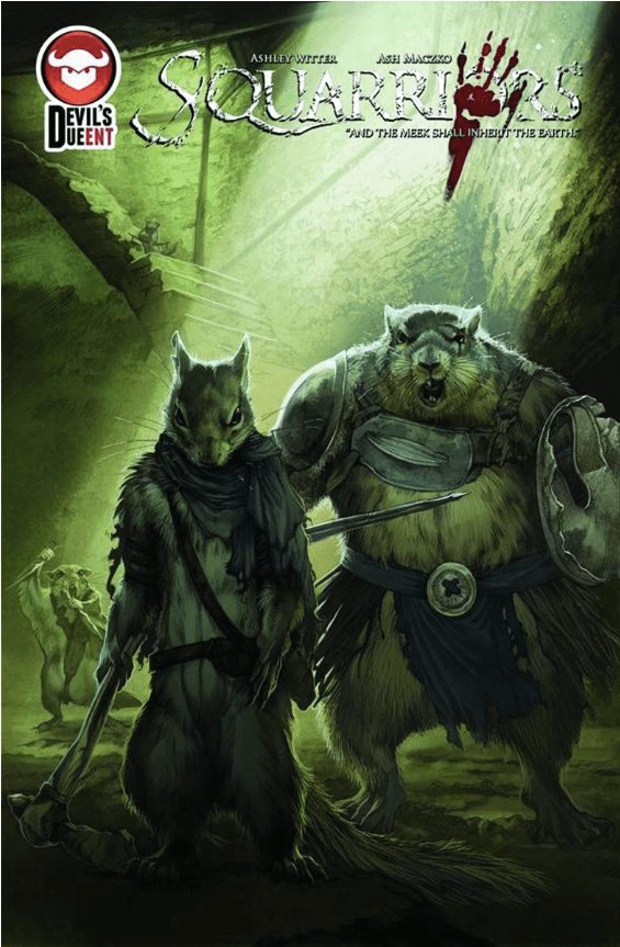 Is It Good? Squarriors #4 Advance Review