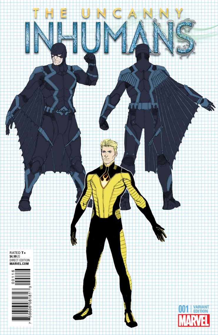 Marvel Preview: Uncanny Inhumans #1