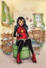 Spider_Woman_1_Oum_Variant