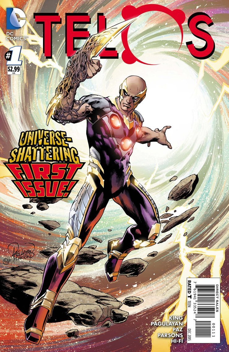 Breaking out of DC Comic's Convergence, Telos is getting his own comic. I'm not sure why, but let's see what happens and what writer Jeff King has to offer. Is it good?