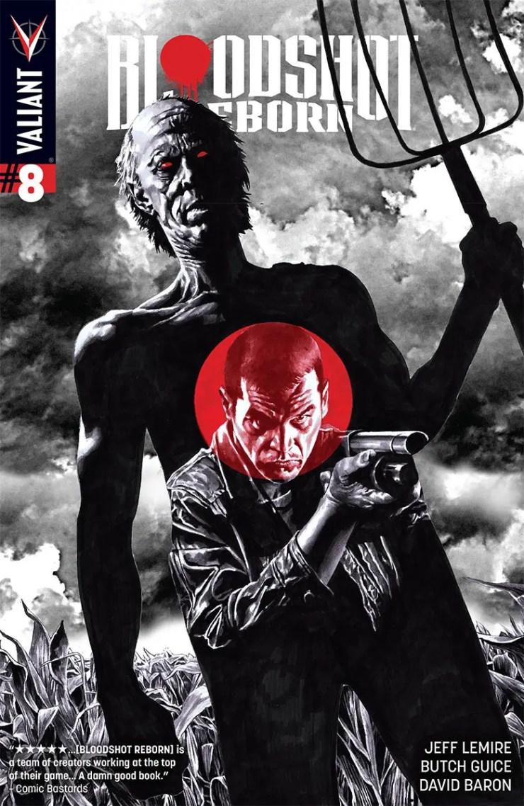 Valiant Preview: Bloodshot Reborn #8