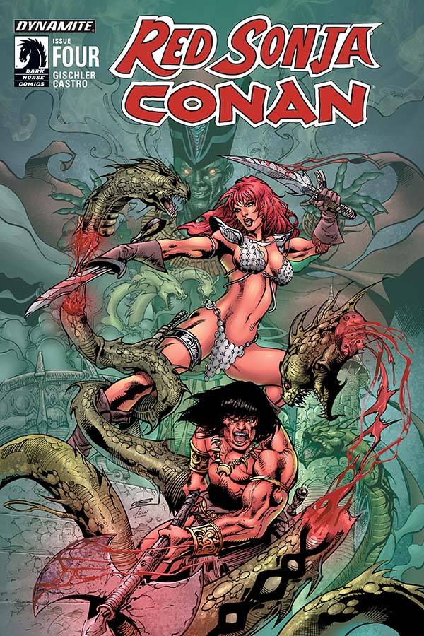 Red Sonja / Conan #4 Review