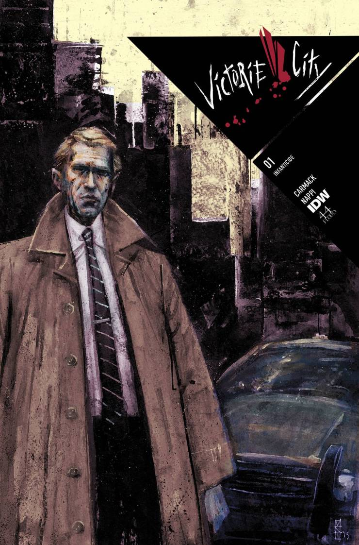 'Victorie City' Creator Keith Carmack Talks Comics with Detectives, Film Noir, and Real Life Thrown In