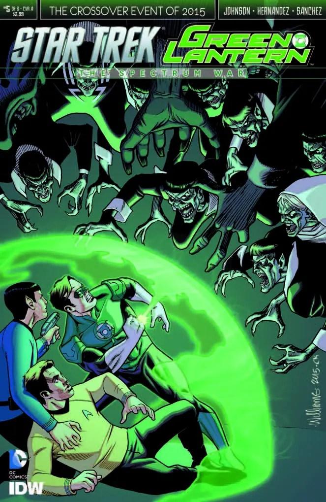 IDW Preview: Star Trek/Green Lantern #5