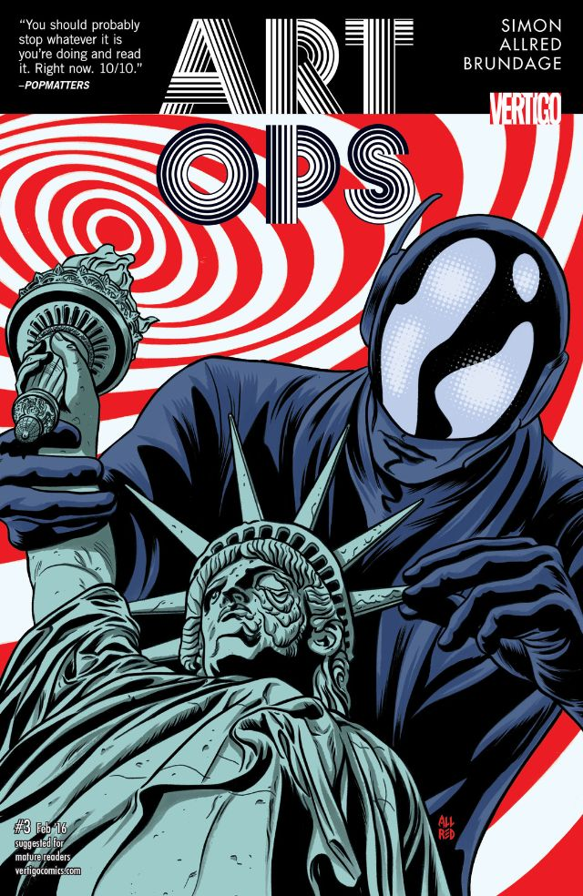 Art Ops #3 Review