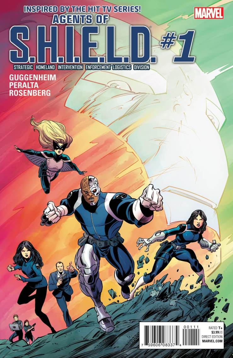 Marvel Preview: Agents of S.H.I.E.L.D. #1