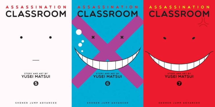 It's been a while since we've discussed Assassination Classroom. Let's take a look at the fifth, sixth, and seventh volumes of the series.