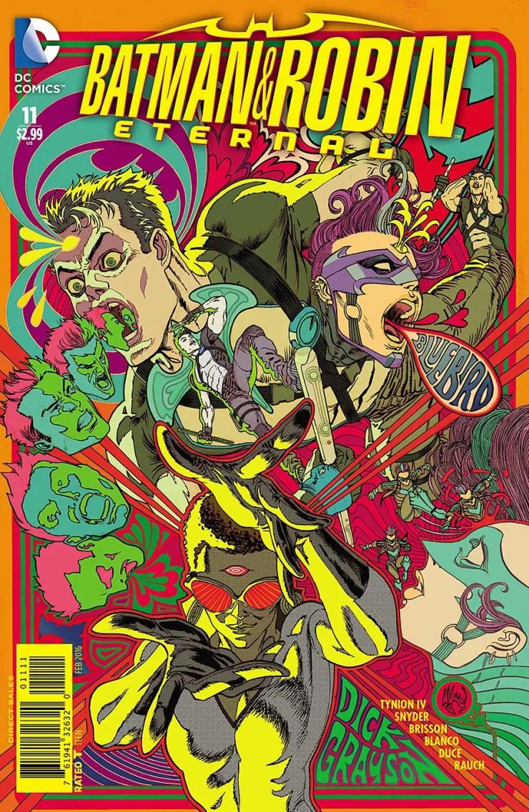 Batman and Robin Eternal #11 Review