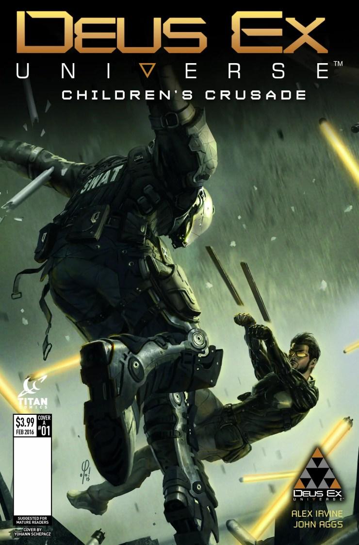 Titan Preview: Deus Ex #1