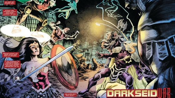 Darkseid War continues this week and things aren't looking so hot for our JL crew.