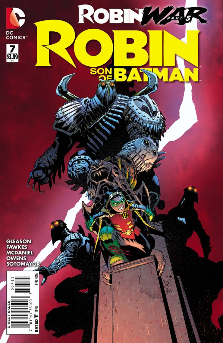 Robin: Son of Batman #7 Review