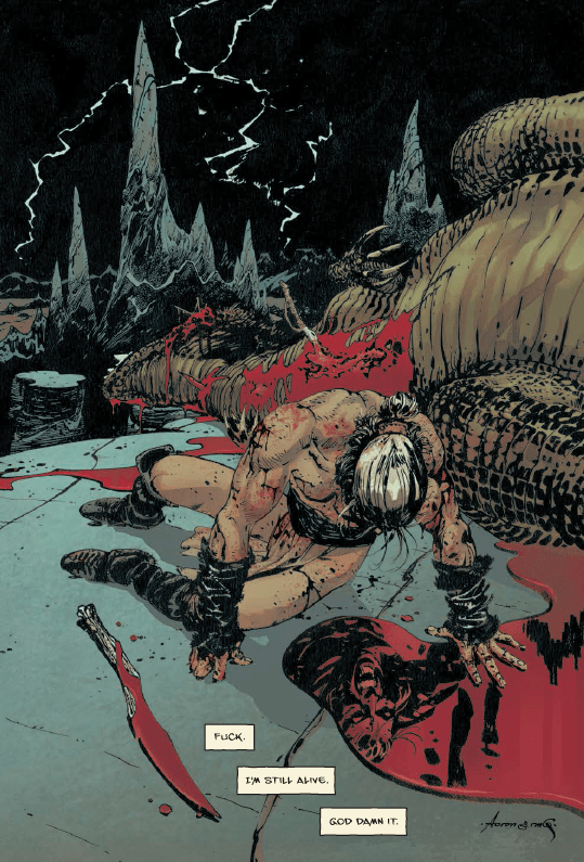 The Goddamned #2 Review