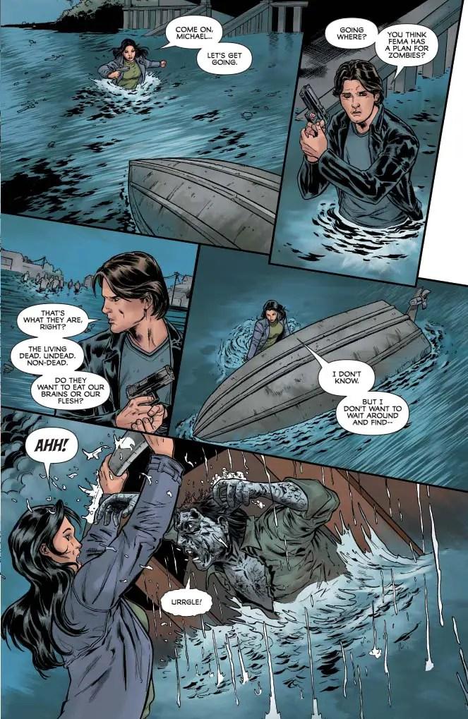 Dean Koontz's Frankenstein: Storm Surge #3 Review