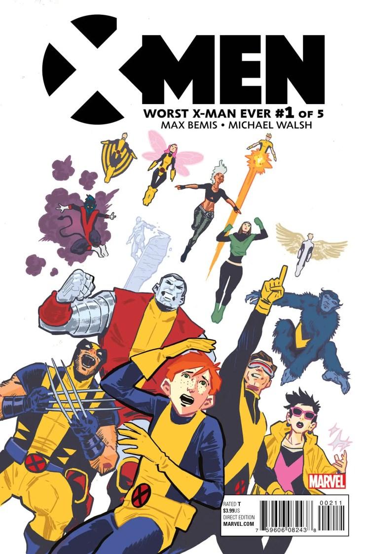 Marvel Preview: X-Men: Worst X-Man Ever #1