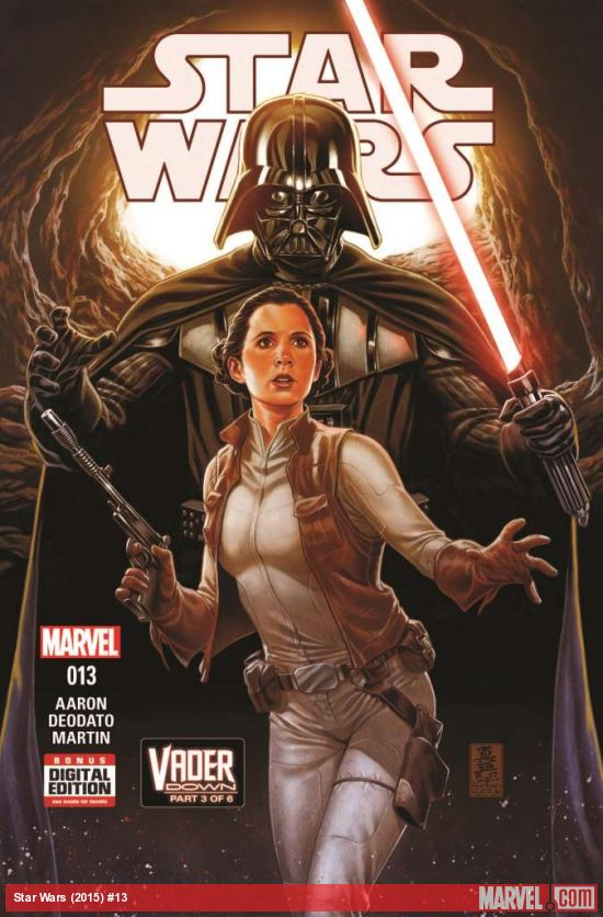 The first Star Wars event crossover has reached its third issue as we witness Darth Vader single handedly fighting rebels on their own home base planet. Let's just say he's not having much of a problem taking them out. This issue however focuses on Luke. Is it good?