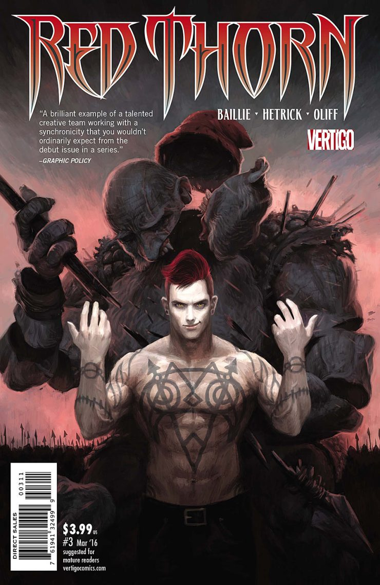 Red Thorn #3 Review