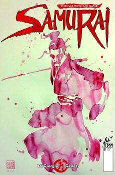 Samurai Comic_1_CoverB_David Mack