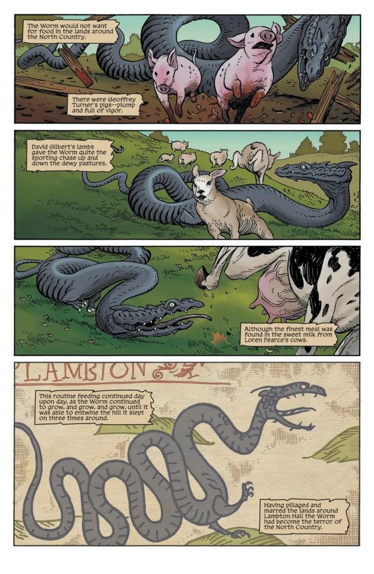 Jim Henson's The Storyteller: Dragons #2 Review
