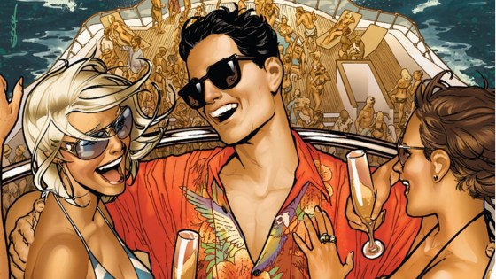 The idea of a series exploring different aspects of Superman is a good one because more often than not he's a rather flat character. What better way to see Clark Kent's firsts than in a series of snapshots written by Max Landis and drawn by multiple artists? The last issue did a lot of things well, but how is issue #3? Is it good?