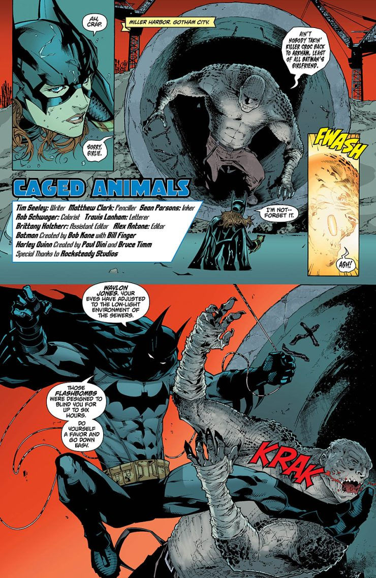 Batman: Arkham Knight - Batgirl/Harley Quinn #1 Review