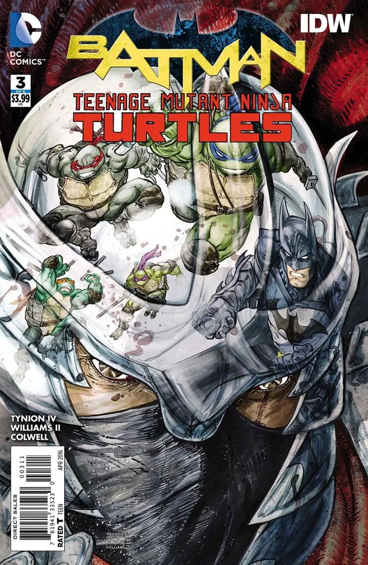 Batman/Teenage Mutant Ninja Turtles #3 Review