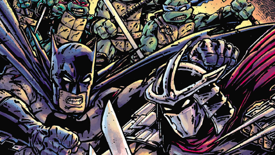 If you think about it Batman and the Ninja Turtles aren't so different -- that's because Batman is basically all 4 Turtles in one! He has brains like Donatello, the strategy of Leonardo, the bad attitude of Raphael and … okay, fine he's not really like Michelangelo.  Question is, is their team up book any good?