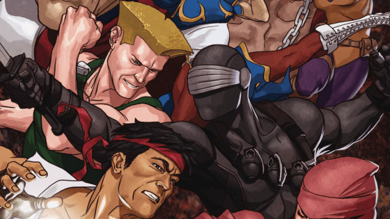 Holy balls, Street Fighter and G.I. Joe are linking up again?