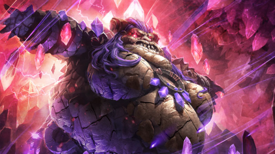 We've taken a look at the decks for the other three Elemental Lords, Ragnaros the Firelord, Neptulon the Tidehunter and Al'Akir the Windlord.  The last deck focuses on the remaining Elemental Lord (lady?), Therazane the Stonemother.